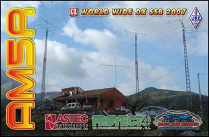 QSL AM5R - CQ WW DX SSB 2007