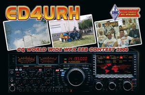 QSL ED4URH - CQ WW WPX SSB 2006