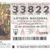 Lotería de Navidad RCH 2014
