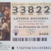 Lotería de Navidad RCH 2015