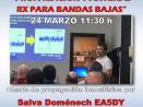 Charla por EA5DY «Propagación y antenas RX» – Online