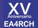 Diploma XV Aniversario del Radio Club Henares – EG4RCH